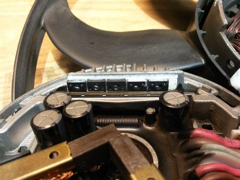 Устройство вентилятора Brose 1K0959455DL 10