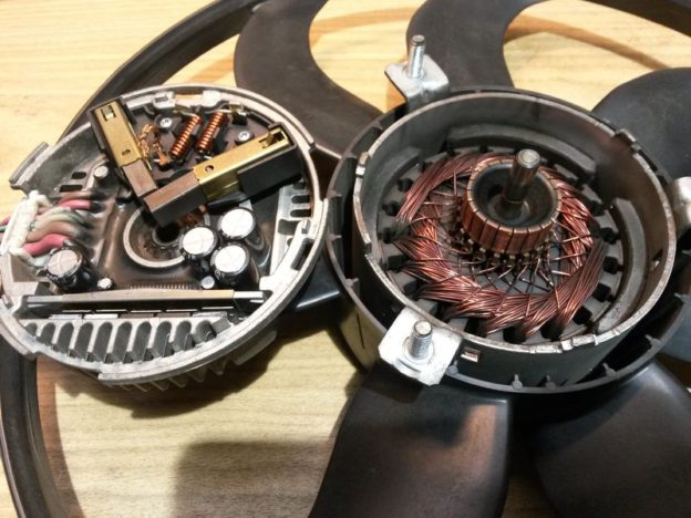 Устройство вентилятора Brose 1K0959455DL 1