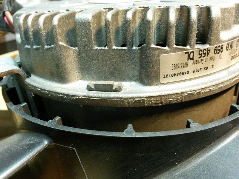 Устройство вентилятора Brose 1K0959455DL 3