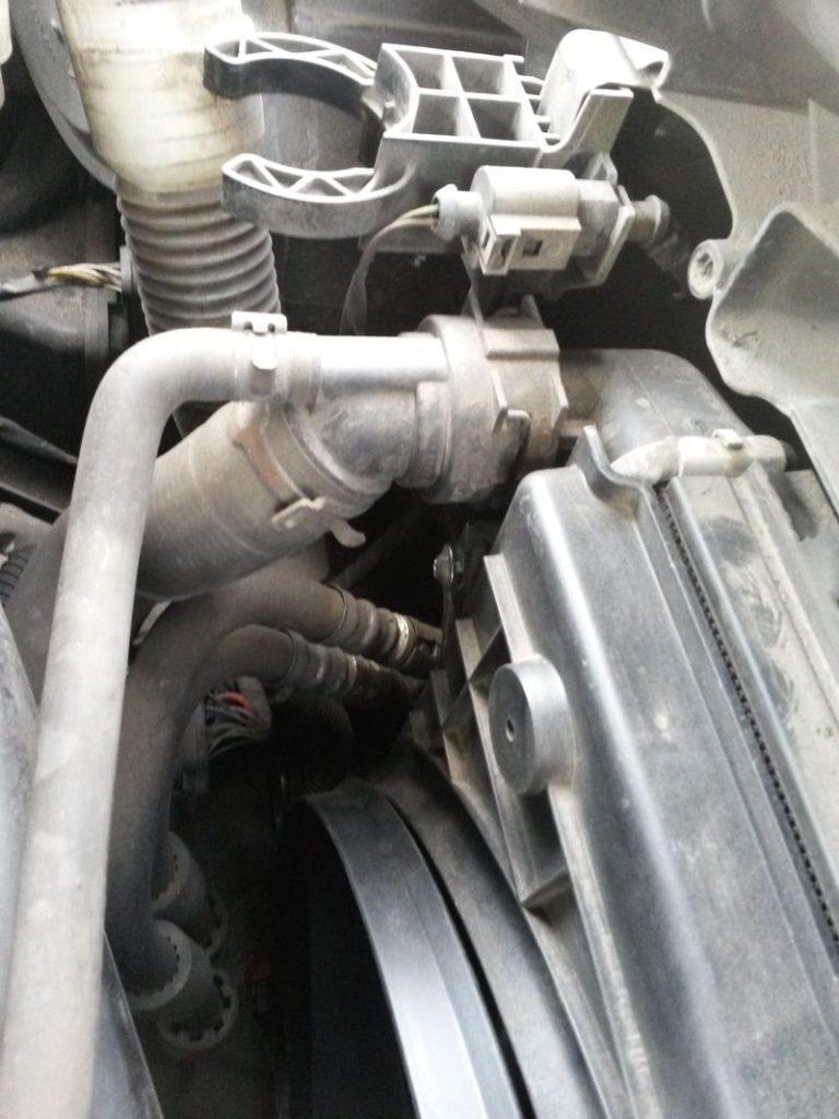 Замена вентилятора охлаждения Tiguan 8