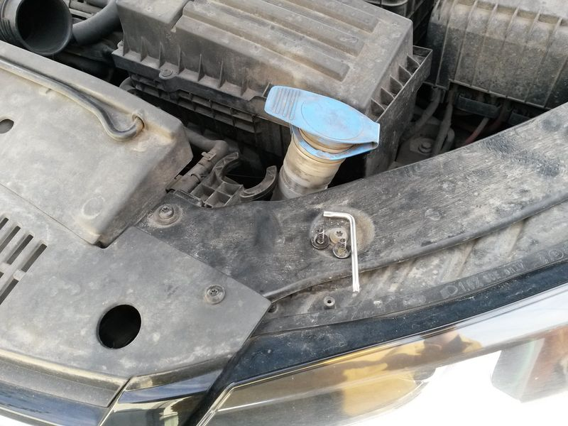Замена вентилятора охлаждения Tiguan 10