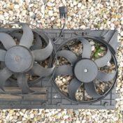 Замена вентилятора охлаждения Tiguan 1