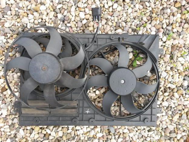 Замена вентилятора охлаждения Tiguan 2