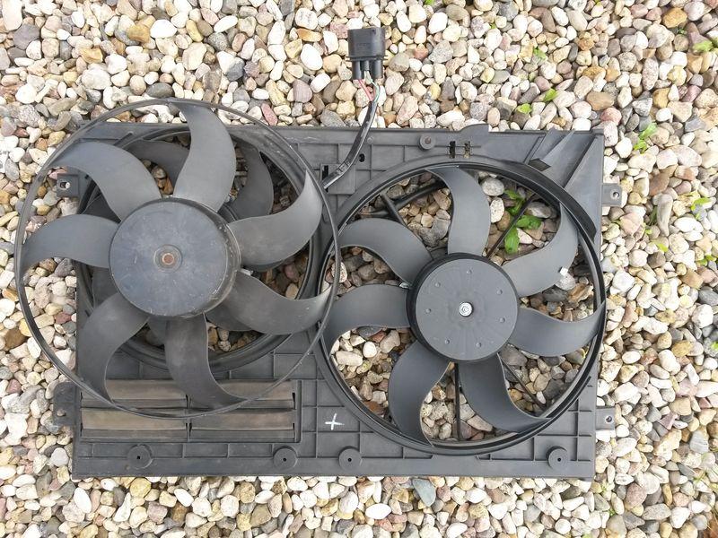 Замена вентилятора охлаждения Tiguan 34