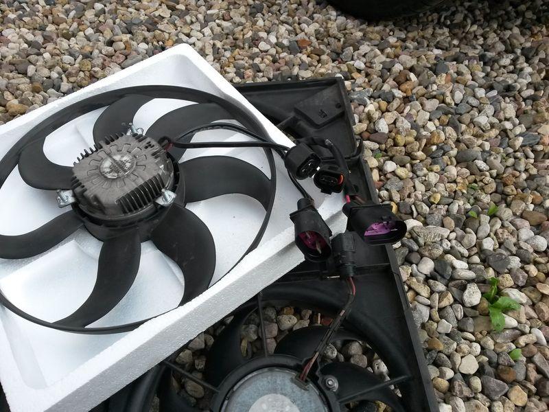Замена вентилятора охлаждения Tiguan 29