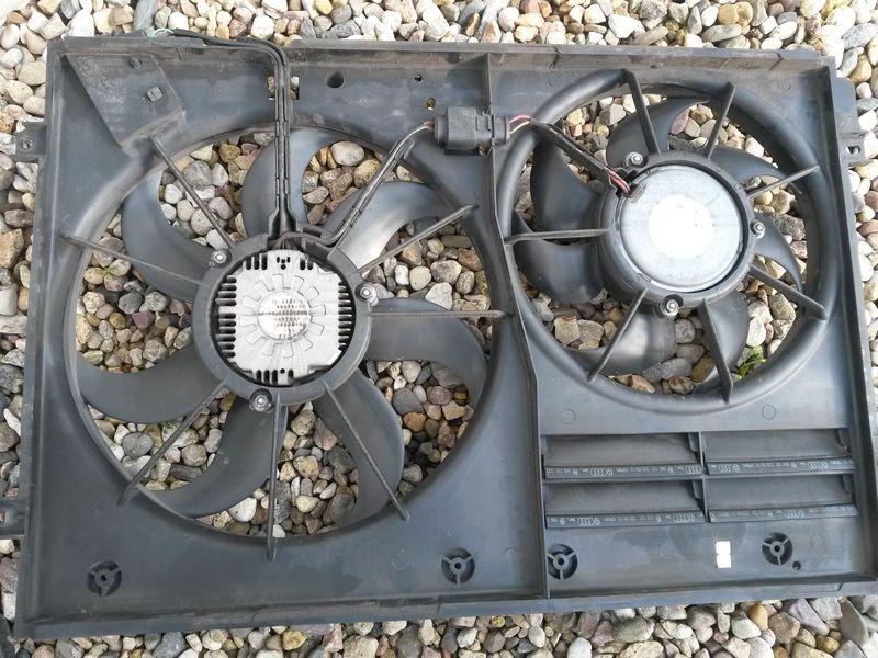 Замена вентилятора охлаждения Tiguan 23