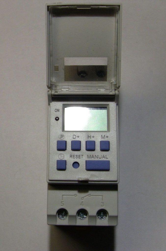 Обзор таймера Oktimer THC15A. Настройка, программирование, внутреннее устройство. 4