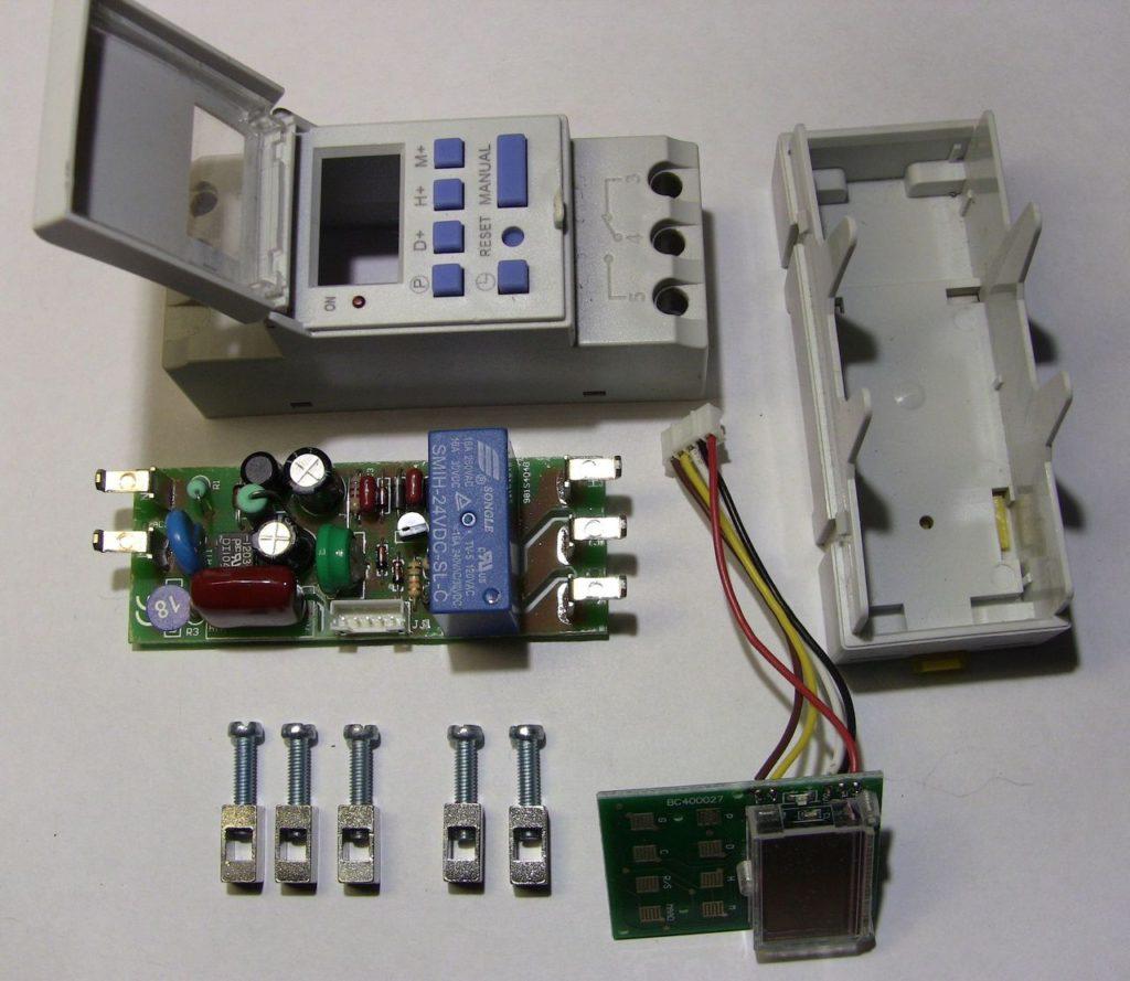 Обзор таймера Oktimer THC15A. Настройка, программирование, внутреннее устройство. 16