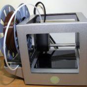 3D принтер Cactus CS-3D MICRO C1 с установленной катушкой пластика