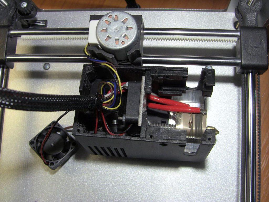 Ремонт экструдера Cactus CS-3D Micro C1. 1