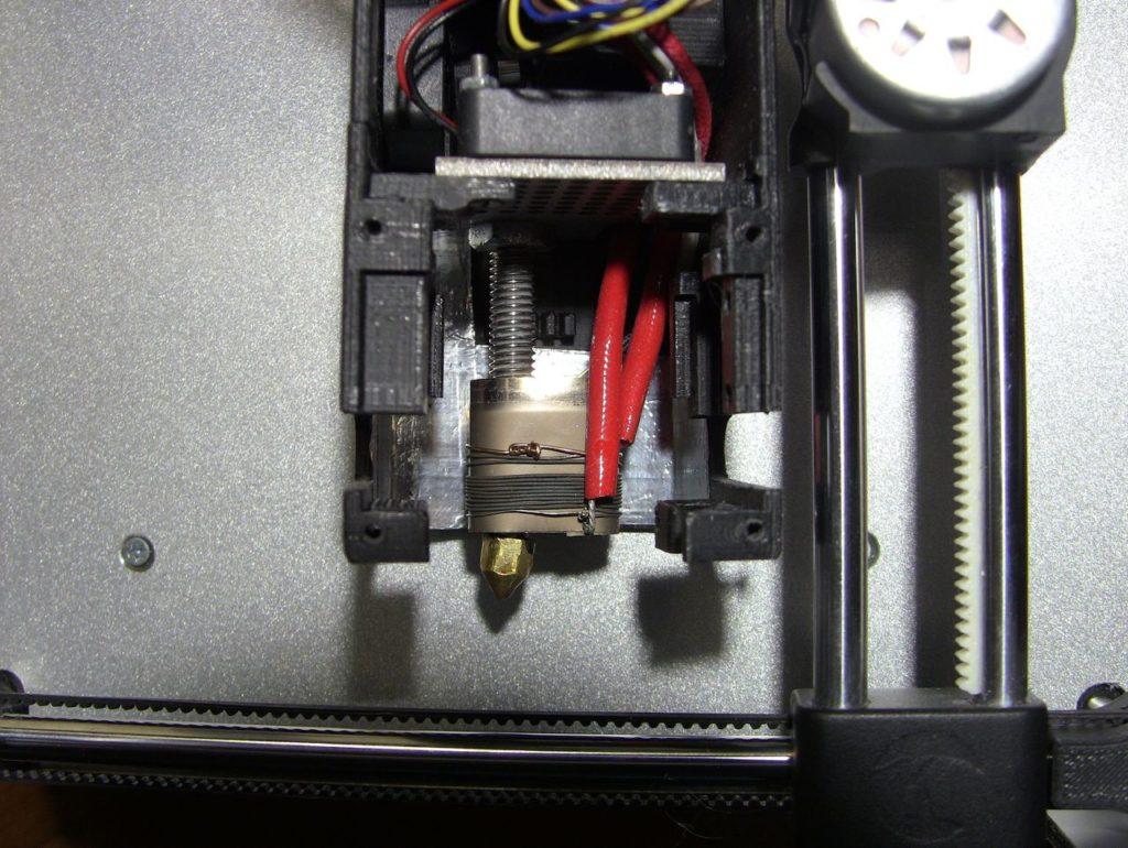 Переделанный экструдер 3D принтера Cactus Micro C1