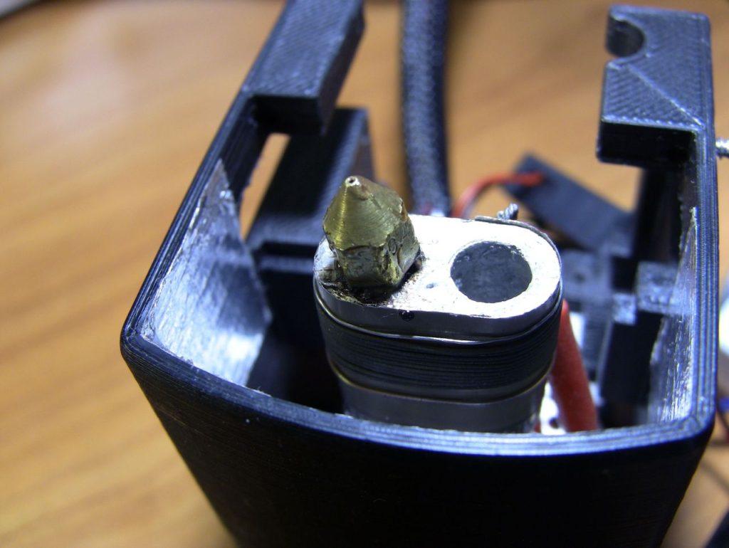 Сопло переделанного экструдера 3D принтера Cactus Micro C1