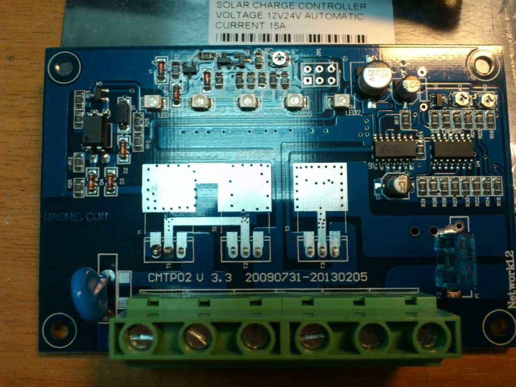 Контроллер заряда от солнечных батарей Solar Charge Controller CMTP02 8