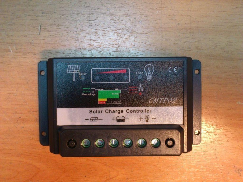 Контроллер заряда от солнечных батарей Solar Charge Controller CMTP02 12