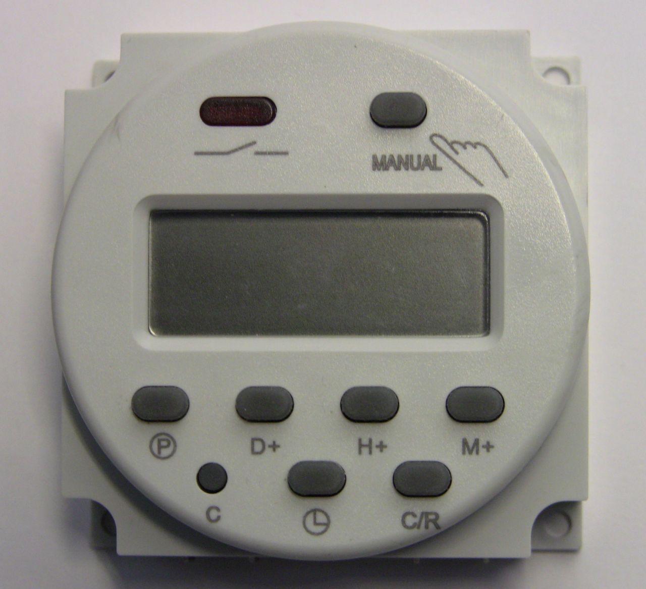Обзор таймера Cn101A. Настройка, программирование, внутреннее устройство.